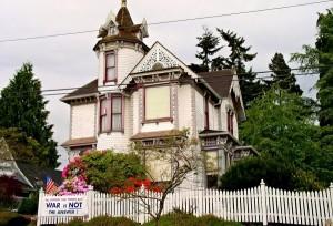 Викторианские дома штата Орегон. USA34